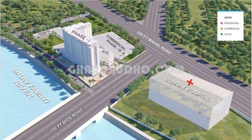Manhattan Riviera : Residential Apartment In Jaipur